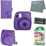 Fuji Instax Bundle Best Deals - Fujifilm Instax Mini 8 Instant Camera Bundle with Accessory Kit (6 Items)