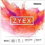 D'Addario Zyex Bass String Set, 3/4 Scale, Medium Tension - DZ610-3/4M