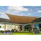 kookaburra wasserfest sonnensegel 3 0m dreieck dunkelgrau. Black Bedroom Furniture Sets. Home Design Ideas