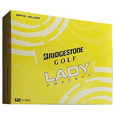 Bridgestone 2016 Ladies Precept Golf Balls New - Yellow