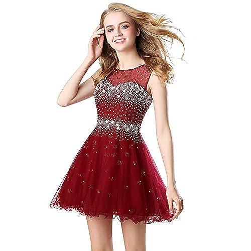 Red Short Prom Dresses Amazon