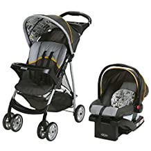 Graco LiteRider LX Travel System with SnugRide Click Connect 30 Infant Car Seat, ABC