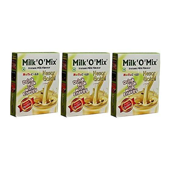 Milkomix Kesar Elaichi Flavored Milk Powder