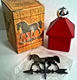 Avon Deep Woods After Shave Weather Vane Decanter 4 oz.