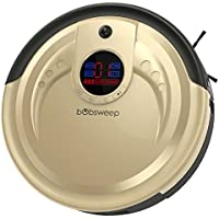 bObsweep Standard Robotic Vacuum Cleaner and Mop (Champagne)
