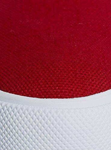 Textile 4510b on Rouge Unies Femme oodji en Slip Ultra qYxUg