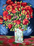 "Van Gogh POPPIES Paint by Number Kit 11"" x 14"""