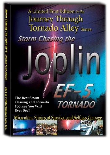 Storm Chasing the Joplin EF-5 Tornado A Journey Through Tornado Alley Limited Edition DVD (Shopping Mo Joplin)