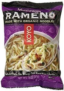 Koyo Ramen, Mushroom, 2 Ounce (Pack of 12)