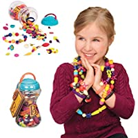 B. Toys Pop Beads Jewelry Making Kit for 4, 5, 6, 7 Year Old Girls