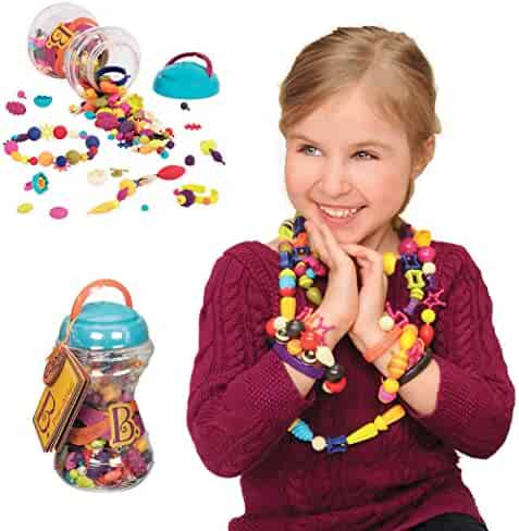 B. toys – Official Pop Arty! Beauty Pops – Pop Beads Jewelry Making Kit for 4, 5, 6, 7 Year Old Girls – BPA Free Necklace Bracelet Rings Creativity DIY Set – Arts and Crafts Gifts for Kids (300PCS)