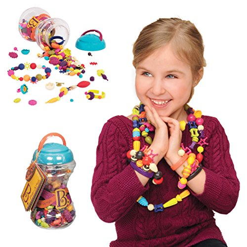 B Toys - (300-pcs) Pop Snap Bead Jewelry - DIY Jewelry Kit for ()