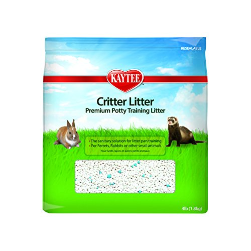 Rabbit Litter (Kaytee Small Animal Critter Litter, 4-Pound)