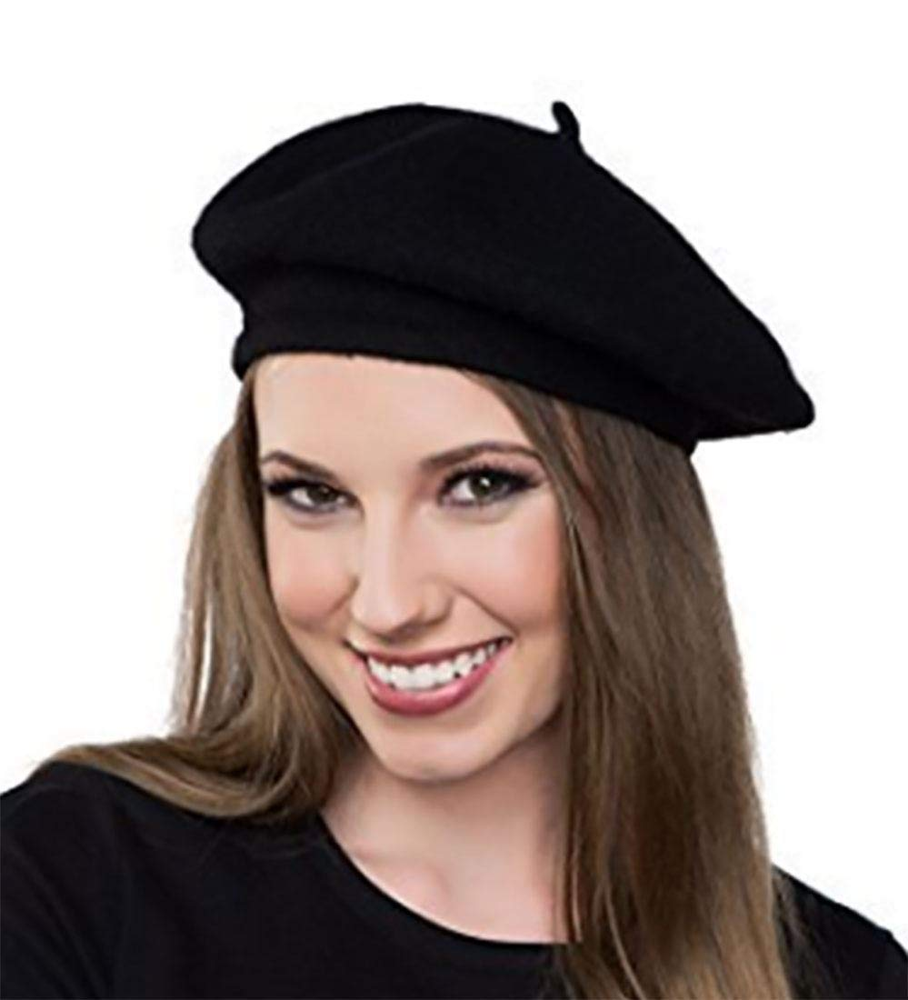 TRIXES French Beret Fancy Dress Theme Hat One Size