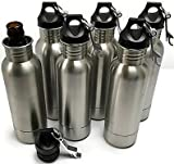 Bottle Armour Stainless Steel Bottle Insulator With Opener 6 Pack