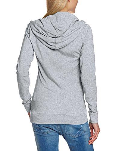 Urban Classics Ladies Jersey Hoody - Sudadera gris