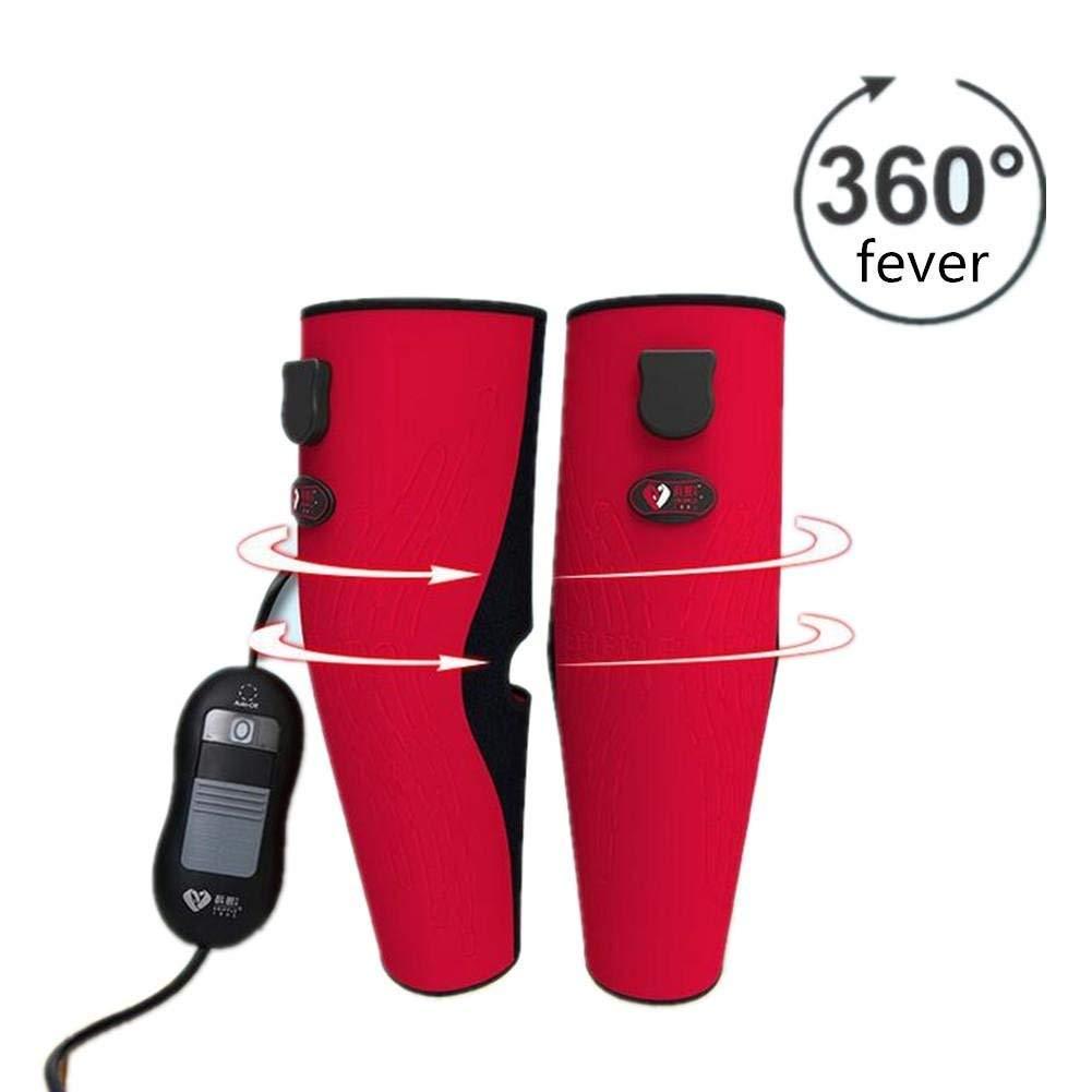 Yudanwin Knie-Schmerzlinderung Gerät Heizung Kniepolster Thanksgiving Weihnachten Geschenk Physiotherapie Winter Instrument Alte kalte Beine Massageers Unterstützt Joint, grau