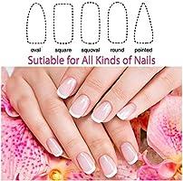 Lima de uñas de cristal brillante para uñas de Foonee Nano Crystal pulido con estuche para uñas naturales y acrílicas (1 unidad): Amazon.es: Belleza