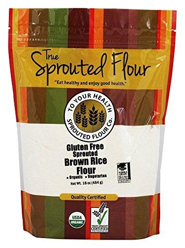 - TRUE SPROUTED FLOUR Organic Brown Rice Flour, 16 OZ