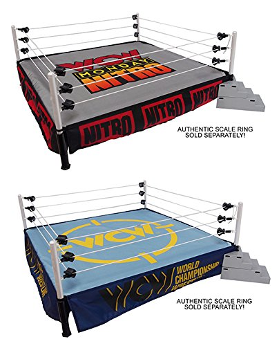 package-deal-two-2-ring-skirts-two-2-mats-wcw-classic-monday-nitro-wwe-ringside-exclusive-wicked-coo