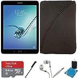 Samsung Galaxy Tab S2 9.7-inch Wi-Fi Tablet (Black/32GB) SM-T810NZKEXAR 64GB MicroSD Card Bundle includes Galaxy Tab S2, 64GB MicroSD Card, Stylus Stylus Pen, Protective Tablet Sleeve
