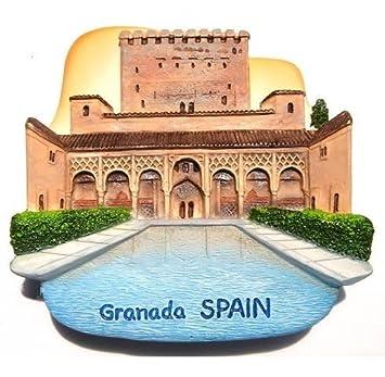 Palacio de la Alhambra Granada Espa?a Ciudadela resina 3D juguetes ...