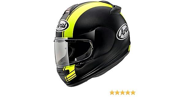 Casco protector integral de moto con tapa amarillo Arai Chaser-V: Amazon.es: Coche y moto