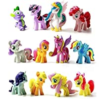 My Little Pony Cake Toppers Mini Figures Set of 12