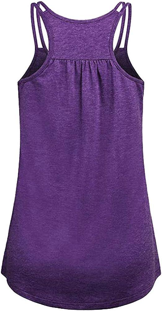 TAKIYA Womens Raceback Tank Scoop Neck Tops Loose Shirt Fit Workout Sport Gym Running Yoga Gym Shirts