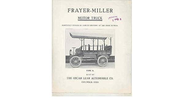 Amazon com: 1907 Frayer Miller 2 1/2 Ton Truck Brochure
