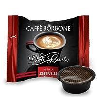 Caffè Borbone Capsule Don Carlo Miscela Rossa - Confezione da 100 Capsule - Compatibili Lavazza A Modo Mio
