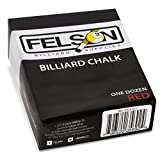 Felson Billiard Supplies Box of 12 Cubes of Pool