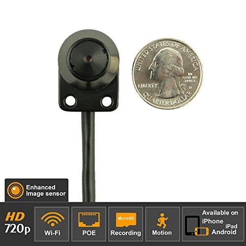 Titathink Wireless WiFi PoE HD Mini Spy Hidden Peephole IP