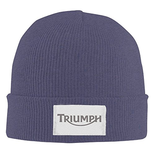 XTREME Watch Cap-triumph Motorcycles Logo For Unisex Navy