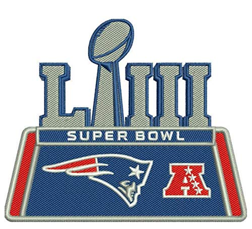 Football 2019 Super Bowl 53 LIII Patch Patriots AFC - Football Afc Champs