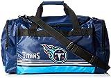 Tennessee Titans Medium Striped Core Duffle Bag