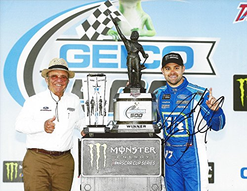 Autographed 2017 Ricky Stenhouse Jr   17 Fifth Third Bank Racing Talladega Race Win  Victory Lane Trophy  First Win Roush Team Signed Collectible Picture Nascar 9X11 Inch Glossy Photo With Coa