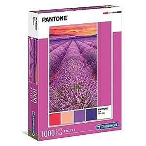 Clementoni Pantone Puzzle Vivid Viola 1000 Pezzi Multicolore 39493