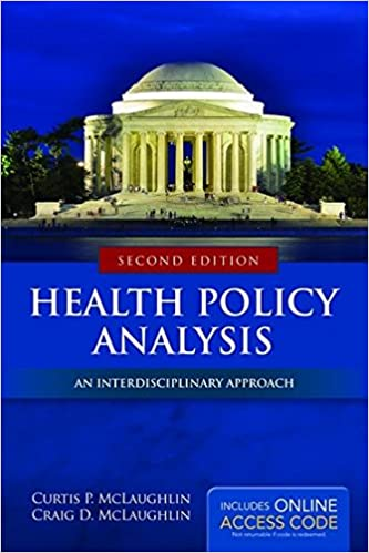 Book Health Policy Analysis: An Interdisciplinary Approach