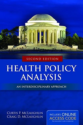 1284037770 - Health Policy Analysis: An Interdisciplinary Approach