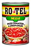 Ro-Tel Mild Diced Tomato & Green Chilies, 10-Ounce Cans (Pack of 12)