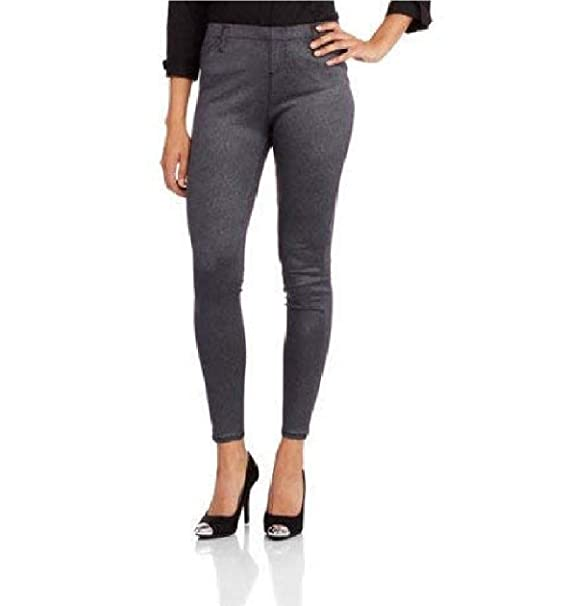 4cda619bc11f1 Image Unavailable. Image not available for. Color: Faded Glory Women's Full  Length Knit Faux Leather Coated Jegging Size ...