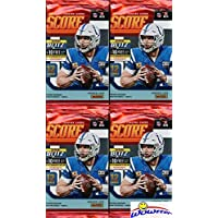 2019 Score NFL Football Collection of FOUR(4) Factory Sealed Packs with 48 Cards! Loaded… photo
