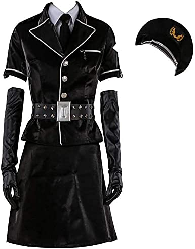 Amazon Com Coseasy Persona 5 P5 Dancing Star Night Joker Protagonist Akira Kurusu Dress Cosplay Costume Halloween Full Set Clothing