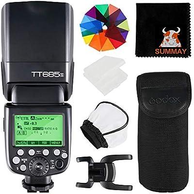 GODOX TT685S TTL Camera Flash GN60 1 8000S HSS External Flash Speedlight with 2 4G Wireless Transmission for Sony DSLR Cameras A7S A7SII A7R A7RII A7II A6000 A6300 A6500 A77II A58 A99