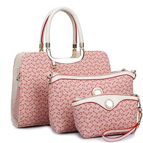 Pink Pink Rosa GBUKQMY135426 Mangetal Hot Borsa mano taglia unica Hot a donna ROUxwqHR