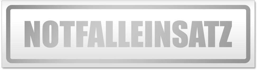 Kiwistar Notfalleinsatz Magnetschild Schild magnetisch