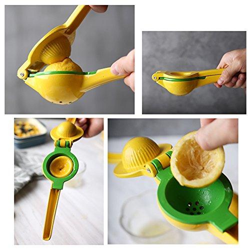 Lemon Squeezer Lime Manual Juicer with Multifunctional Orange Peeler by Fonitial (Image #4)'