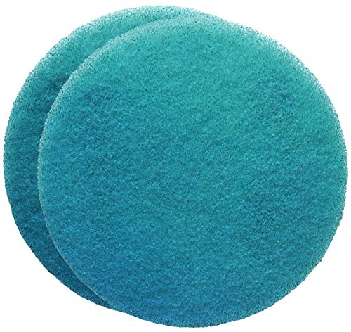 FLEXIS KGS Floor Cleaning & polishing Pads 21 inch, grit 800 - Blue (2 Pack)