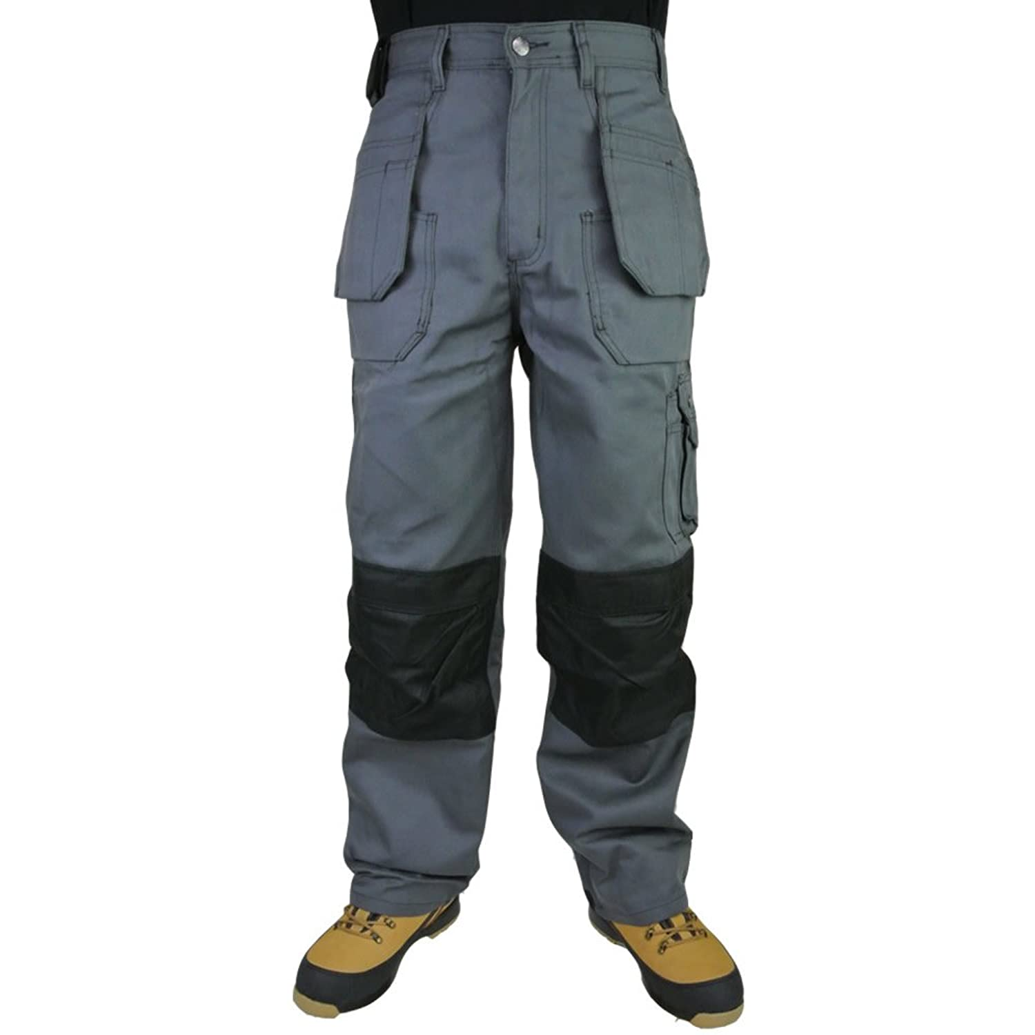2 x Click Hexham Canvas Triple Stitched Tuff Pro Work Trouser Nail Pocket Combat